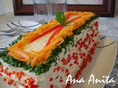 Torta Fria De P  O De Forma